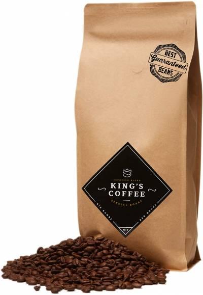 King's Coffee – Speciale Espresso Rooster – Fijnste Arabica Robusta Blend