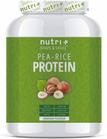 Nutri-Plus Vegan Erwten & Rijsteiwitpoeder