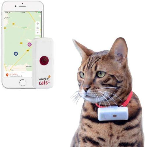 Weenect Cats 2 GPS-tracker voor katten