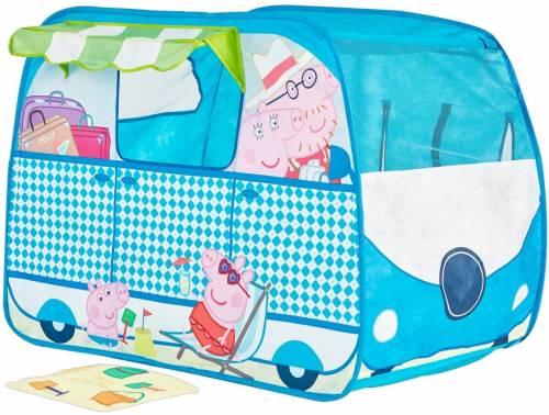 Peppa Pig camper pop-up speeltent
