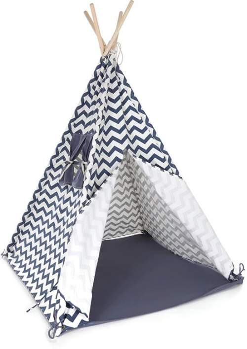 Tipi tent Bandits Indian blauw