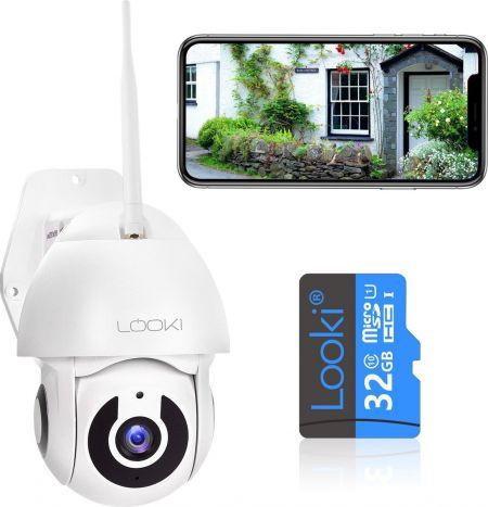 Looki Draadloze IP camera 360 Pro