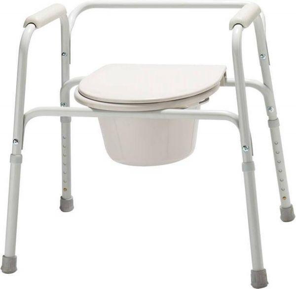 Merkloos Toilet overzetstoel en commode