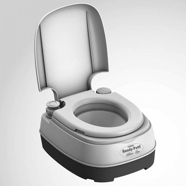 Stimex Chemisch Toilet Handy Potti Silverline