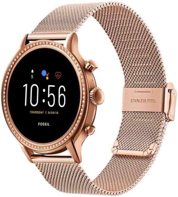 Fossil Juliana Smartwatch Gen 5 pink gold
