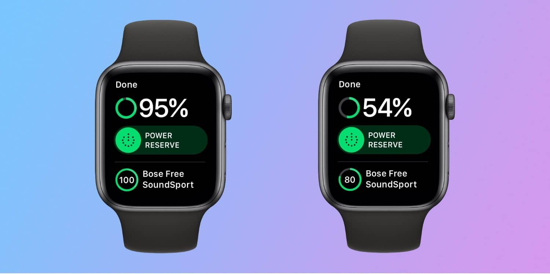 apple watch Levensduur batterij