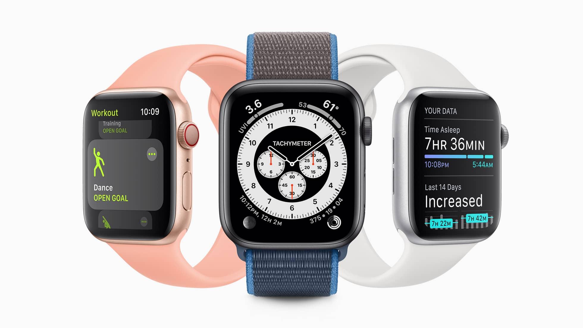 apple Smartwatch functies
