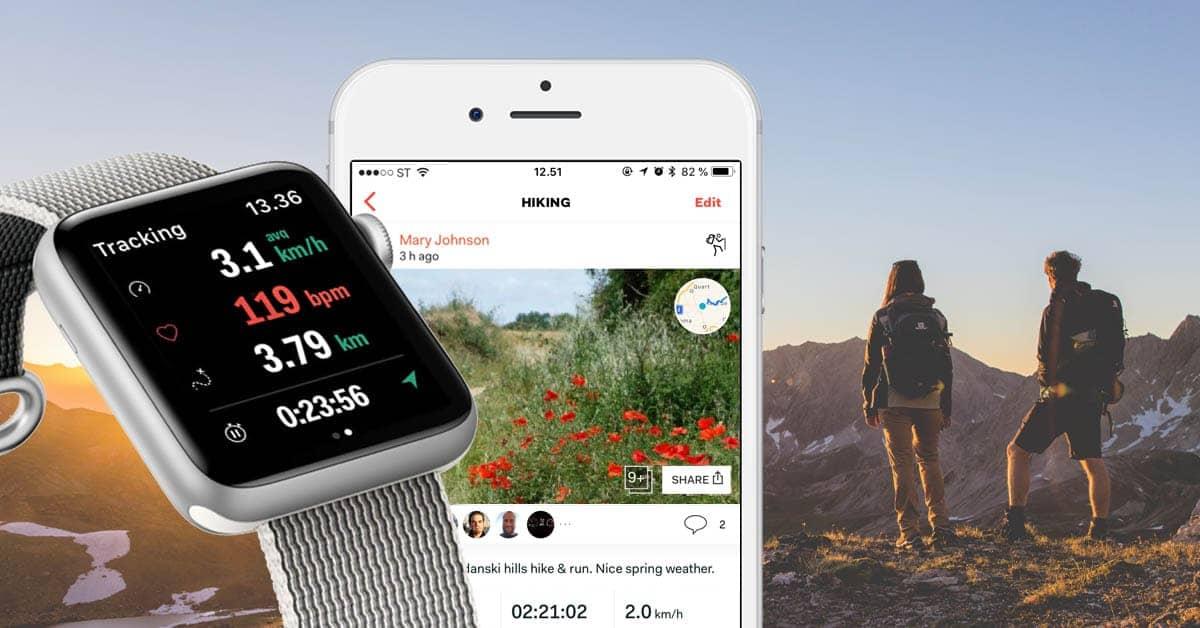 apple watch Functies voor het volgen van sport en fitness